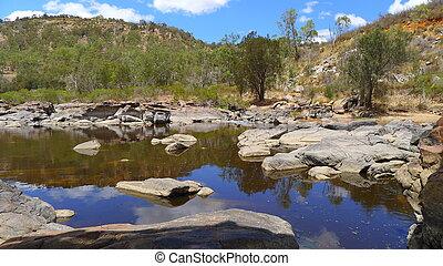 Bells Rapids - Avon River Gorge, Western Australia