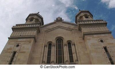 Church zoom in