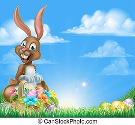 Easter Egg Hunt Bunny