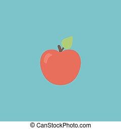 apple vector icon