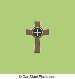 Tombstone - cross gravestone icon - Tombstone - cross...