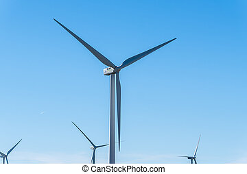 Windmills for electric power production, eco power, wind turbines