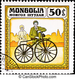 affranchissement, timbre, Spectacles, vendange, Vélo