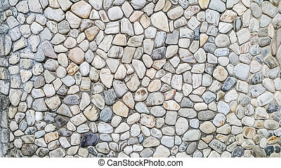 Old river rock wall texture background