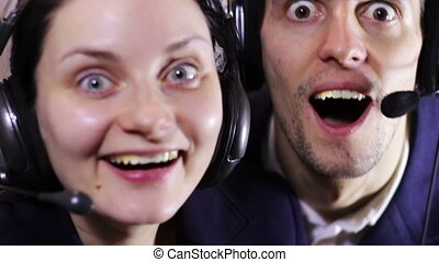 Crazy Call Center Operator - Support of customer service....