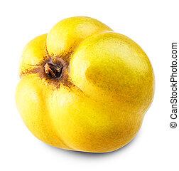 manzana, membrillo,