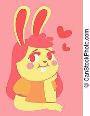 Bunny Girl in Love