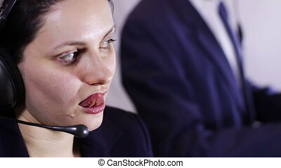 Call Center Operator - Support of customer service Girl and...