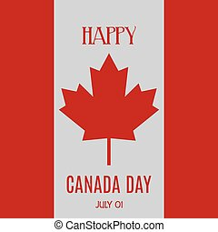 Canada Day - Abstract Canada day background with some...