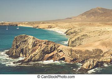 Lanzarote El Papagayo Playa Beach in Canary Islands