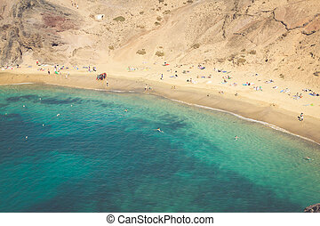 Lanzarote El Papagayo Playa Beach in Canary Islands