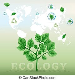 ecology world infographics