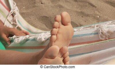 Feet In Hammock
