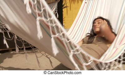 Latina In Hammock
