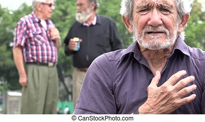 Old Man And Heart Attack