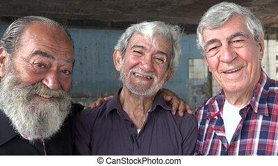 Friendship Of Happy Old Men