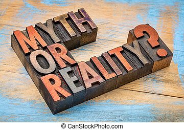 Myth or reality? QUestion in wood type - Myth or reality?A...