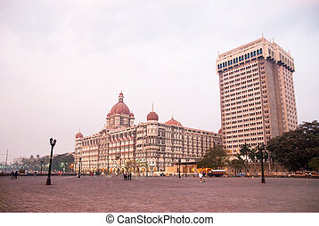 Mumbai Bombay, India - A view of downtown Mumbai Bombay,...