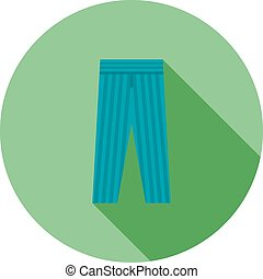 Trousers, fashion, clothes icon vector image Can also be...