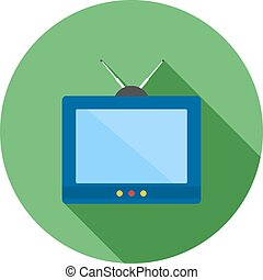 Television, tv, screen icon vector image Can also be used...