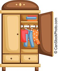 Wardrobe Vector Clipart Eps Images 8 361 Wardrobe Clip Art Vector Illustrations Available To