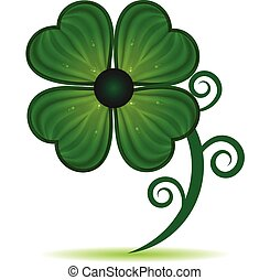 Clover St. Patrick symbol