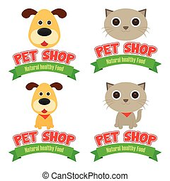 Pet shop - Abstract pet shop background with some special...
