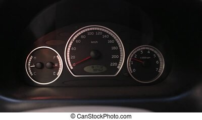Car Tachometer While Revving