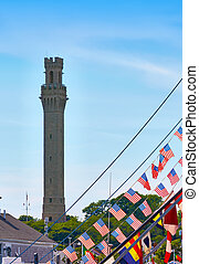 Cape Cod Provincetown Pilgrim tower Massachusetts
