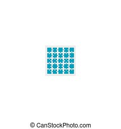 puzzle pieces collection - A set of jigsaw puzzle pieces...
