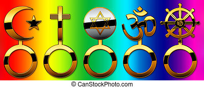 faiths - The 5 world religions