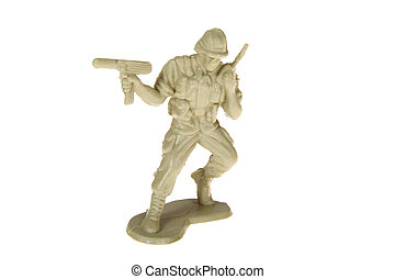 Plastic Toy Soldier