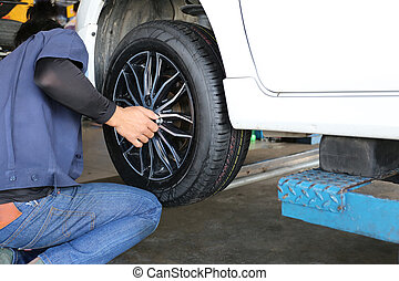 mechanic repaired wheeled vehicles - mechanic repaired...