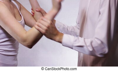 Quarrel Between Man and Woman