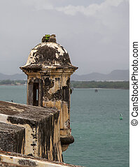 Sentry Box Lookout - Sentry box lookout, at the El Morro...