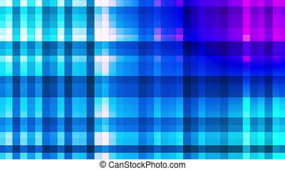 Broadcast Twinkling Hi-Tech Strips, Blue, Abstract, Loopable, HD
