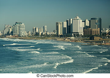 views of Tel Aviv