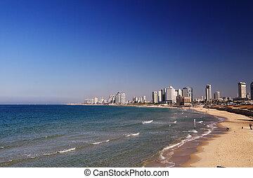 views of Tel Aviv