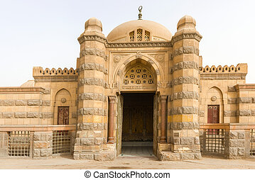 Mausoleum of Mohamed Ali Family City of Deads Cairo, Egypt -...