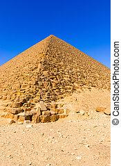 Dahsur pyramids in Egypt - Dahshur, is a royal necropolis...