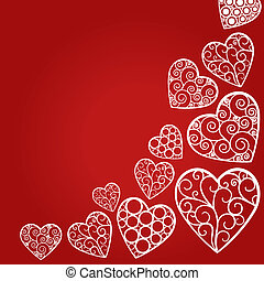 Valentines day background - Valentine`s Day abstract...