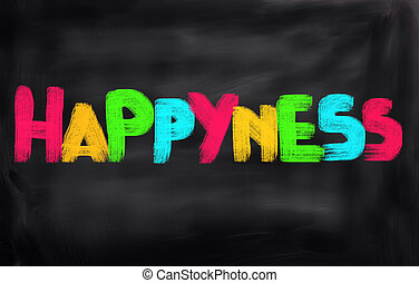 Happyness Concept