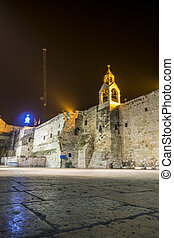 Church of Nativity, Bethlehem, Palestinian Autonomy, Middle...