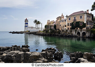 Cascais Santa Marta Lighthouse - The Santa Marta Lighthouse...