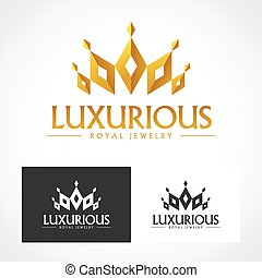 Luxurious royal jewelry professional business