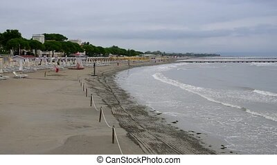 Grado in Italy, the beach