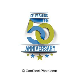 50th Years Anniversary Celebration Design