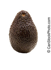avacado - ripe avacado vegetable on a white background