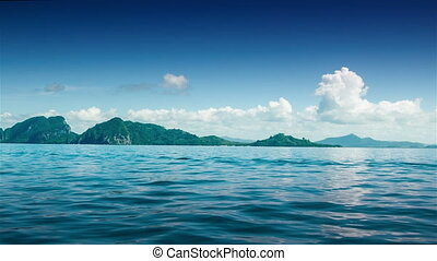 Island from a boat 2