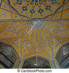islamic persian mosaic ceiling